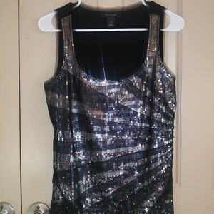 White House Black Market Sequin Cami